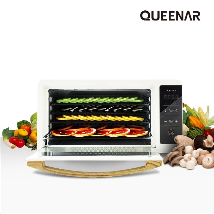 [퀸나] 에어플로우 디지털 식품건조기 QNFD-8000W/QNFD-8000B 이미지